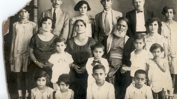 Rabbi Malka and his family (via Tales of Jewish Sudan)