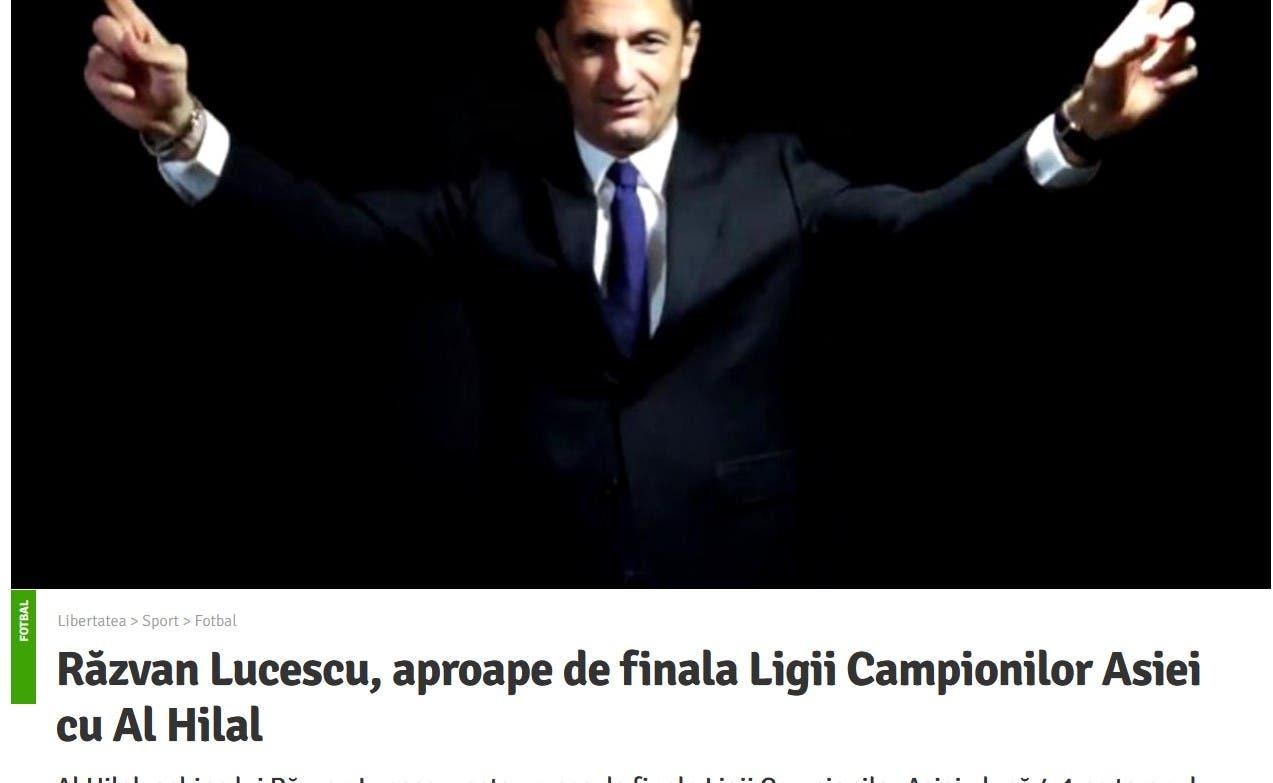تقرير الصحيفة الرومانية