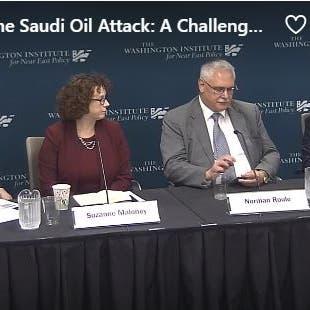 معهد واشنطن: يجب معاقبة إيران عسكرياً وإلا نتوقع هجمات أخرى