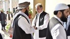 افغان طالبان وفد کی پاکستانی وزیر خارجہ شاہ محمود قریشی سے دفتر خارجہ میں ملاقات