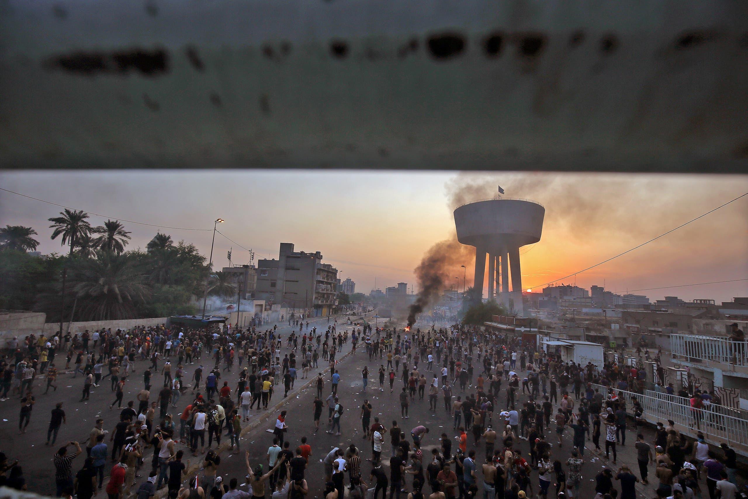 من ساحة الطيران في بغداد