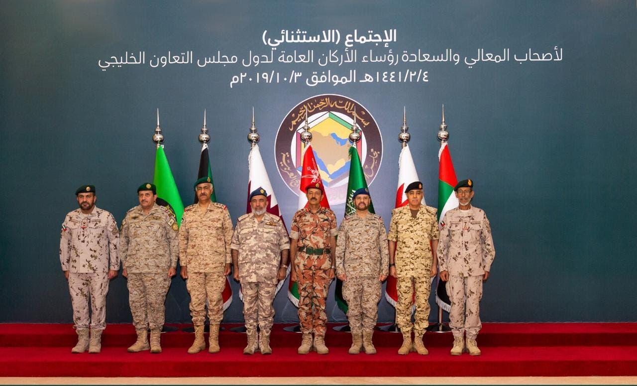 رؤساء الأركان العامة للقوات المسلحة بدول مجلس التعاون