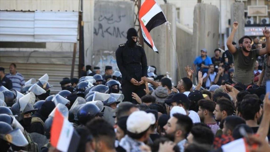 THUMBNAIL_ حظر تجول في بغداد والرئاسات الثلاث تدعو لمحاربة الفساد
