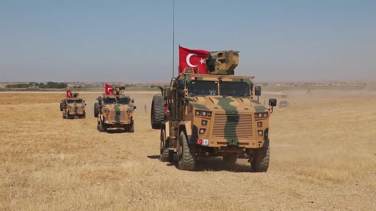 دوريات تركية في المنطقة الآمنة