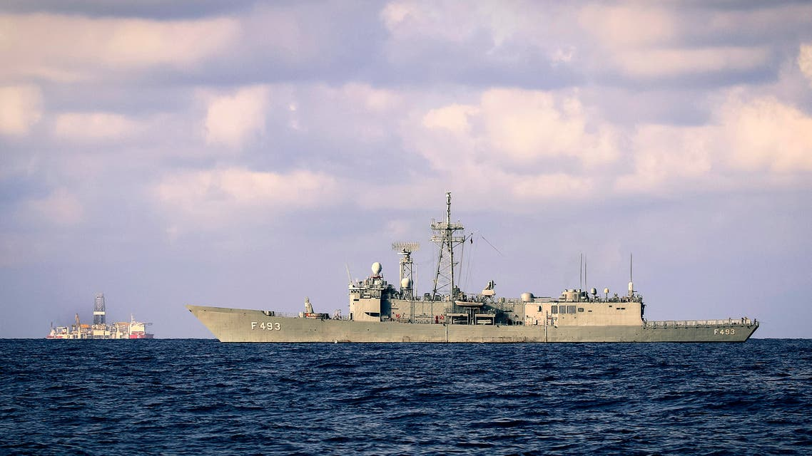 سفينة قبالة السواحل القبرصية(فرانس بررس)