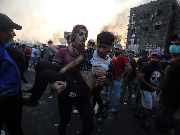 القضاء العراقي يلاحق من أسال دماء المحتجين