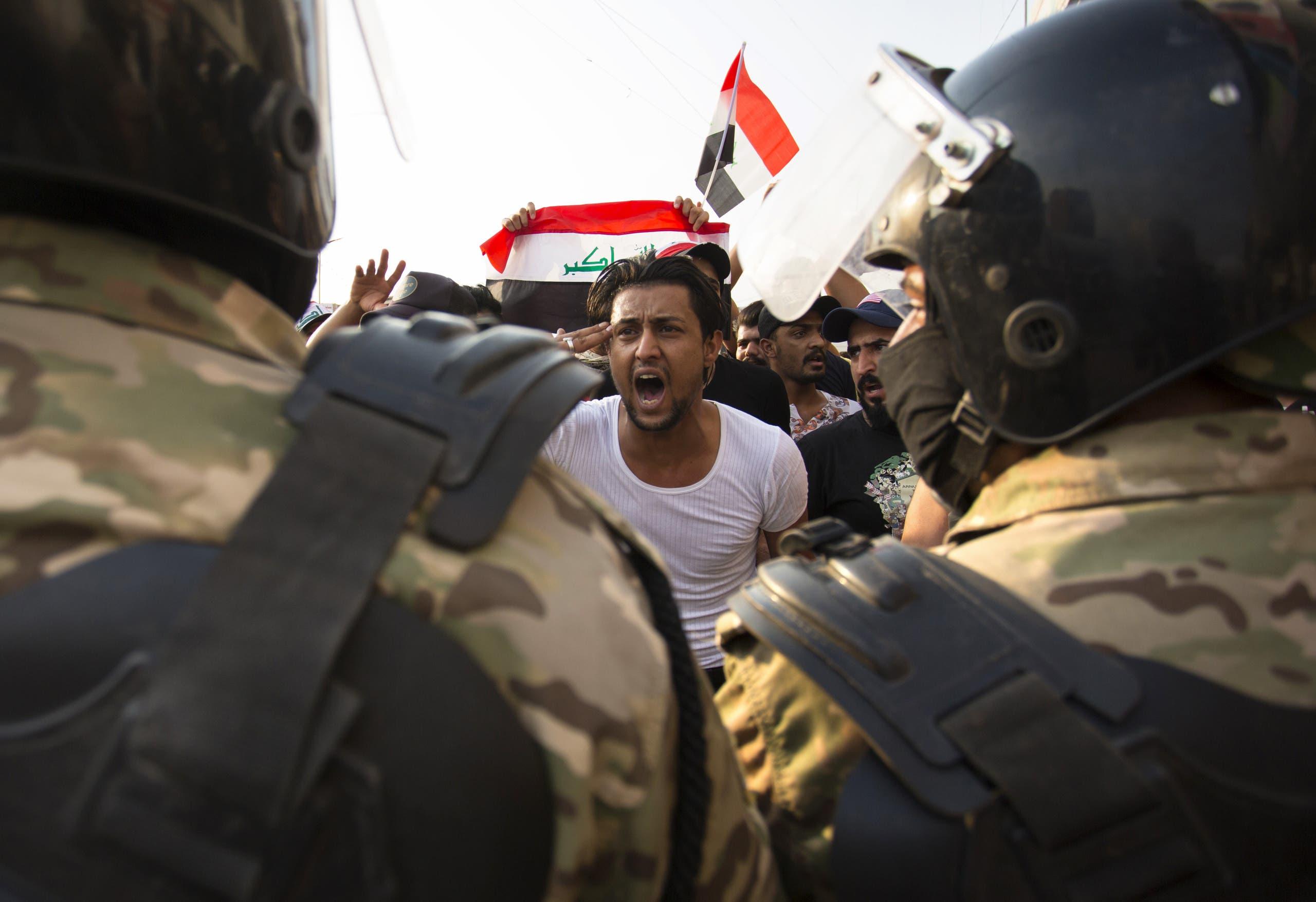 استخادم القوة الأمنية المفرطة ضد المتظاهرين أدى لارتفاع أعداد الضحايا