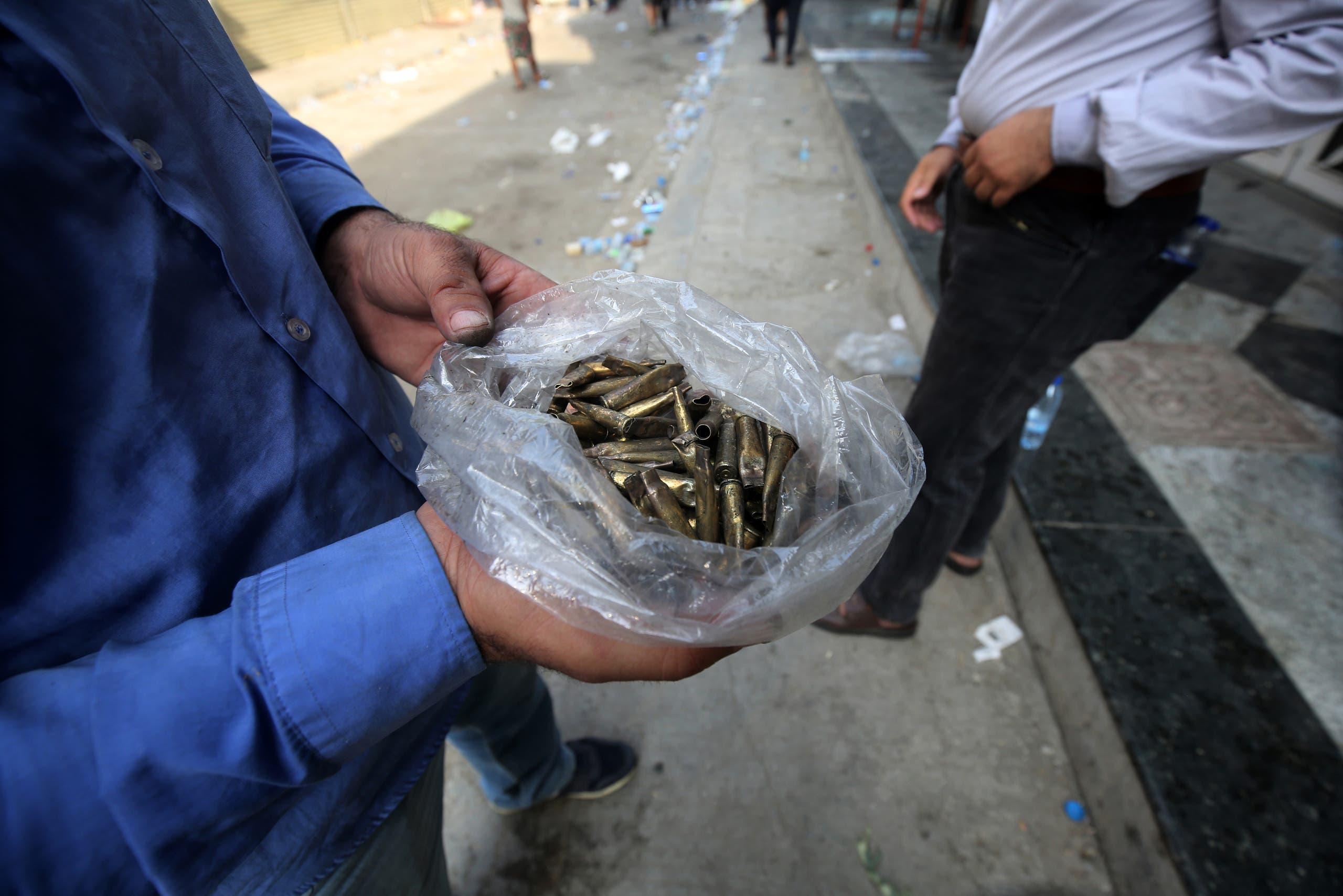 قوات الأمن أطلقت الرصاص الحي على المتظاهرين