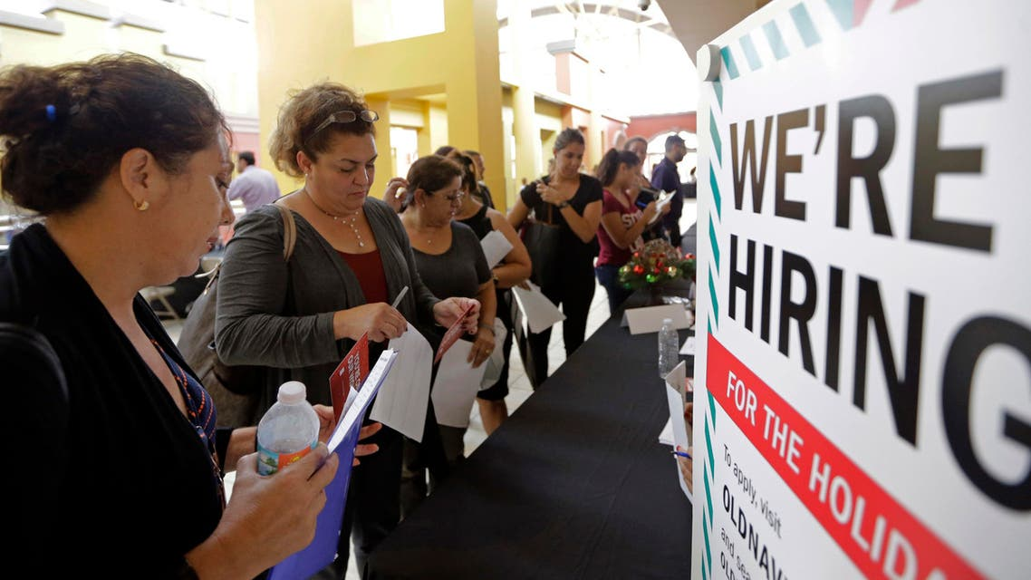 Job fair in the US (AP)