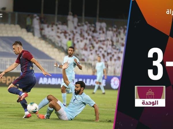 الدوري الإماراتي: هزيمة قاسية للوحدة أمام بني ياس