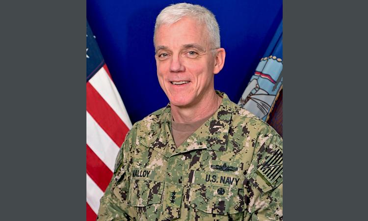 لأميرال جيم مالوي، قائد الأسطول الأميركي الخامس