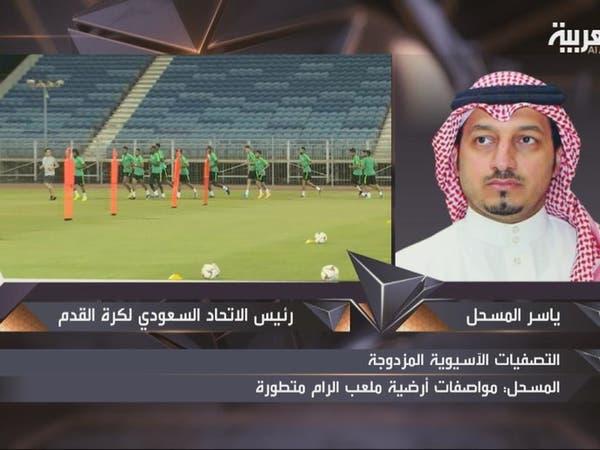 المسحل: الأخضر سيتواجد في رام الله قبل يومين من المباراة