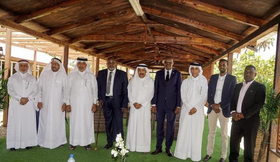 لقاءات قطرية في الصومال