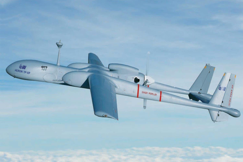 Heron-TP طائرة من طراز