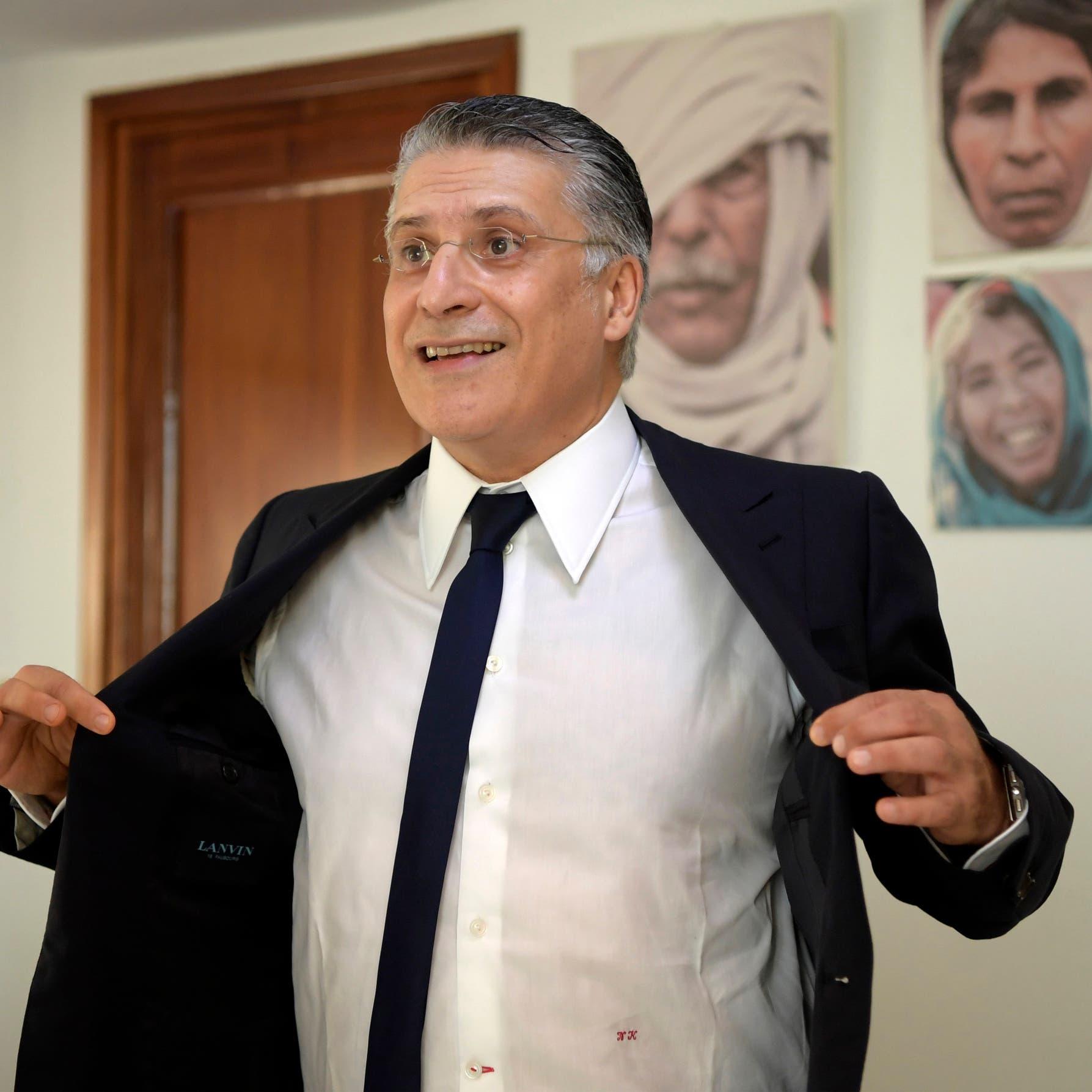 بتهمة تبييض أموال.. نبيل القروي خلف القضبان في تونس