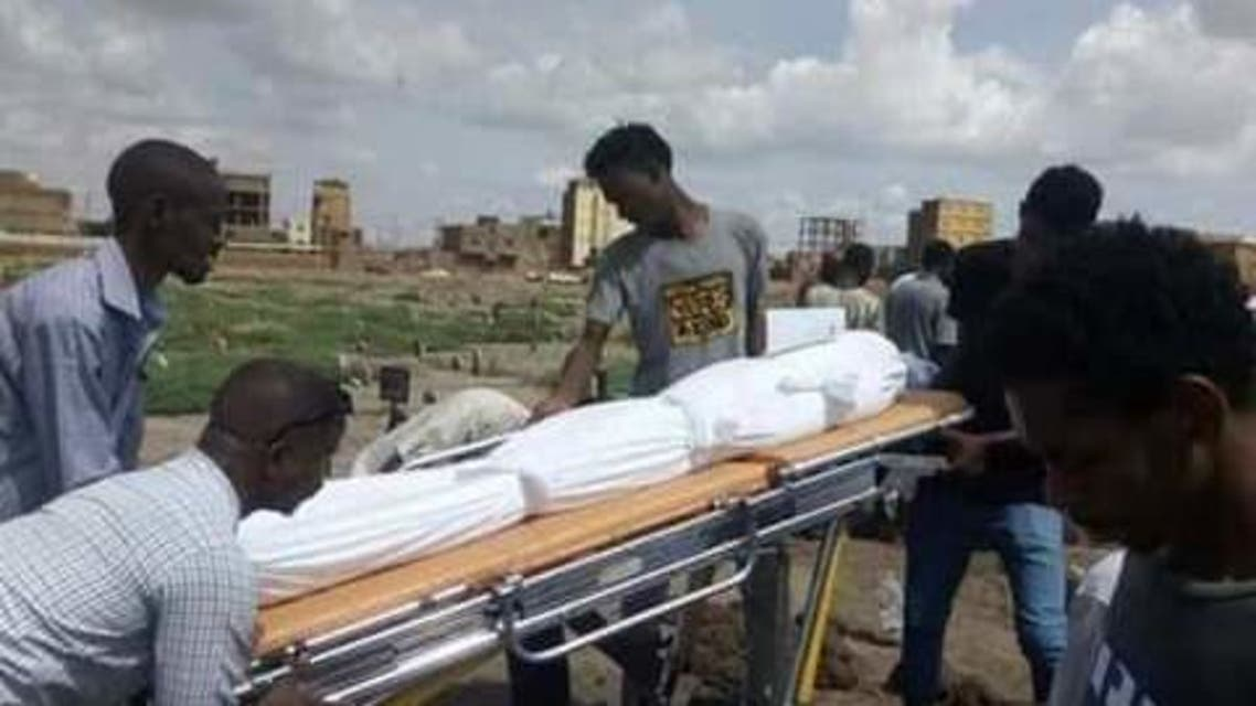 جثة الشاب السوداني قصي