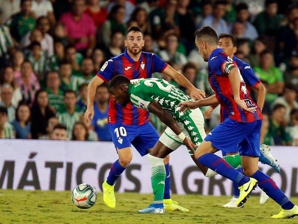 ريال بيتيس يتعادل مع إيبار في الدوري الإسباني