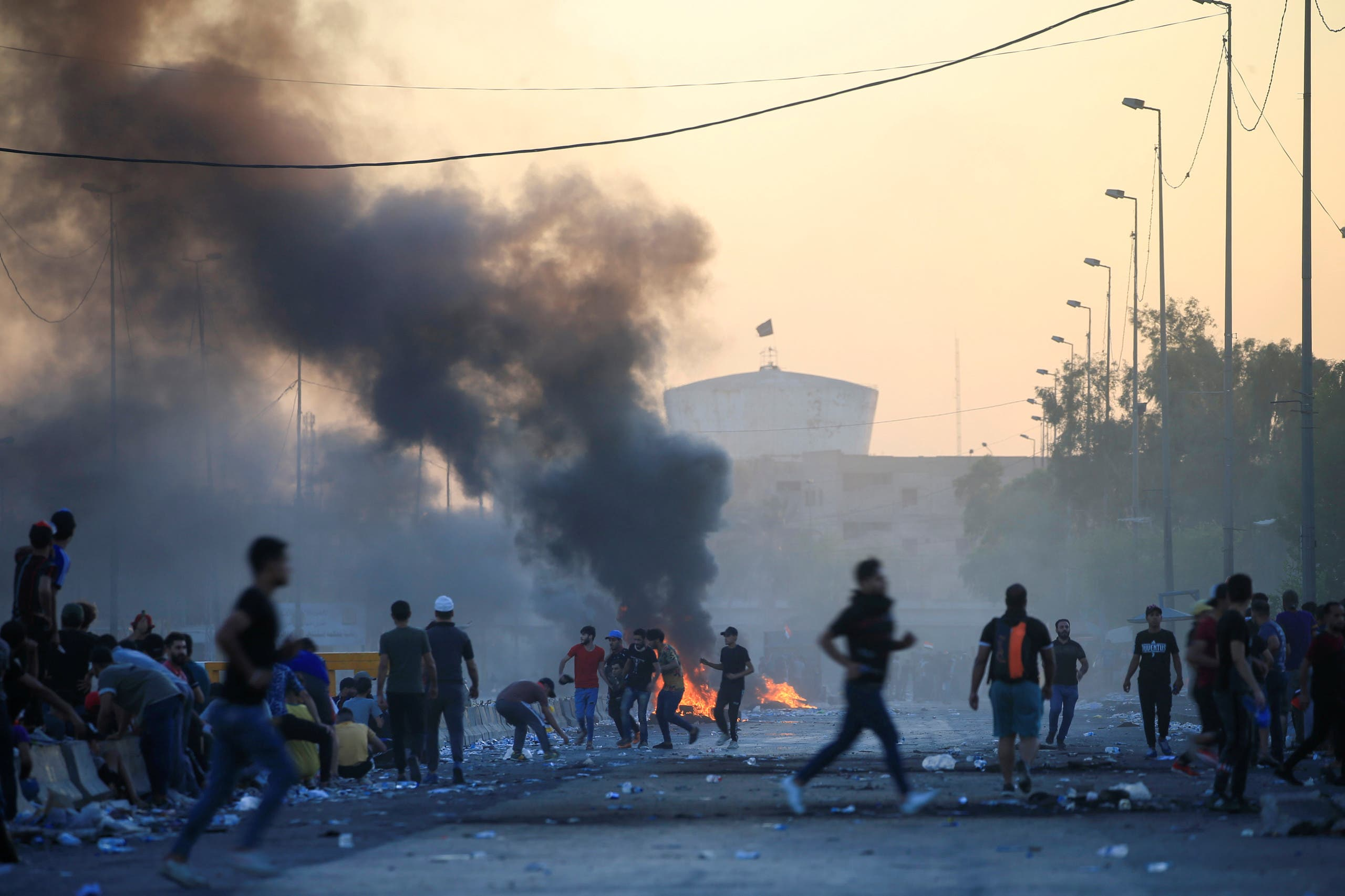 مظاهرات العراق من رويترز 4 أكتوبر