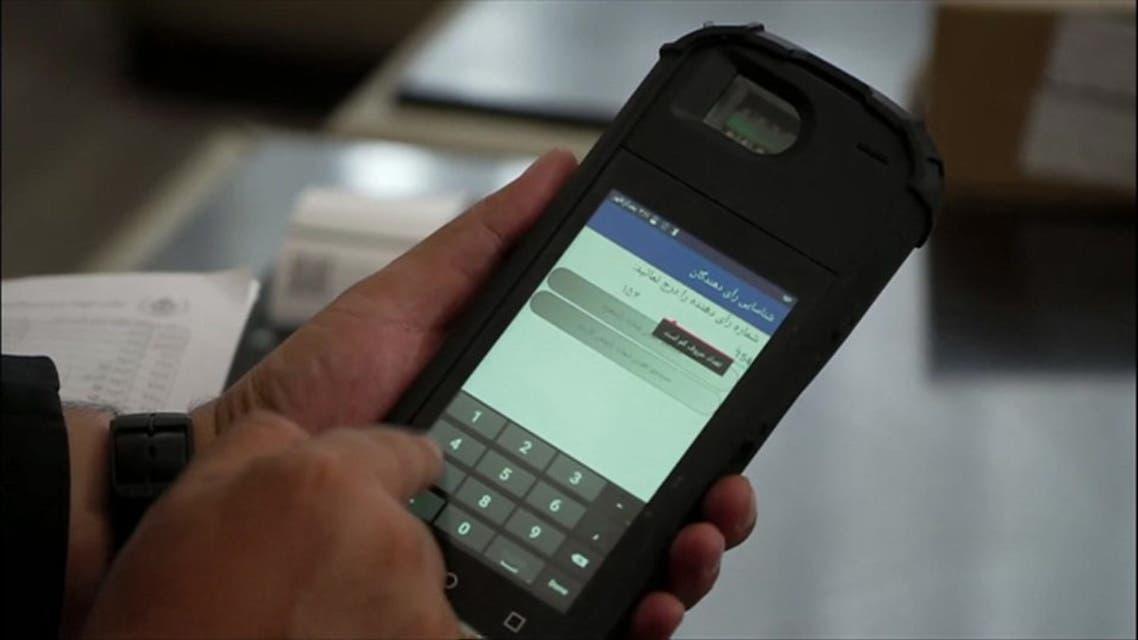 مفقود شدن هفت دستگاه بایومتریک در روز انتخابات در کابل افغانستان