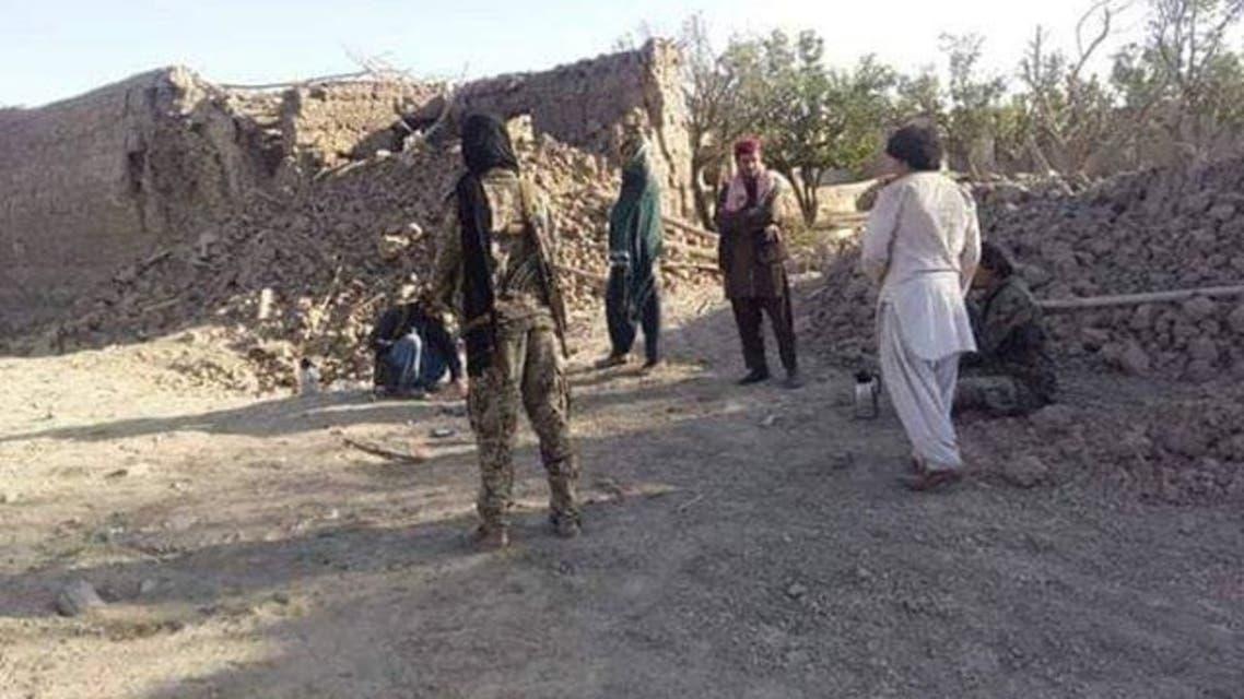انفجار موتر بمب گذاری شده در ولایت غزنی در جنوب افغانستان