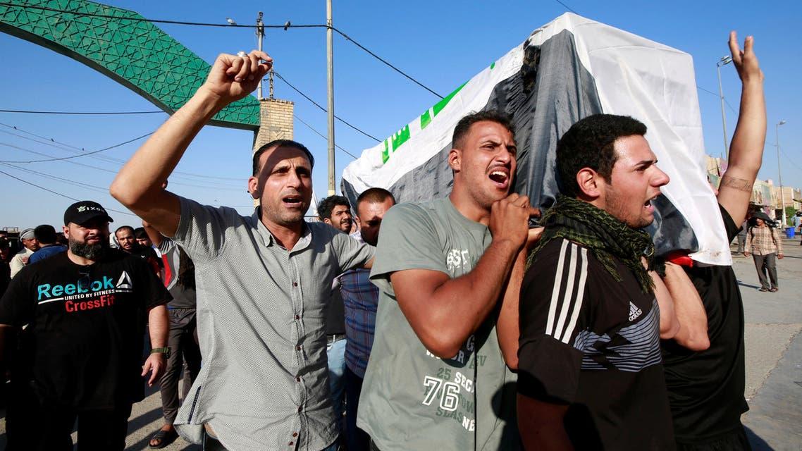 مظاهرات العراق 5 أكتوبر رويترز