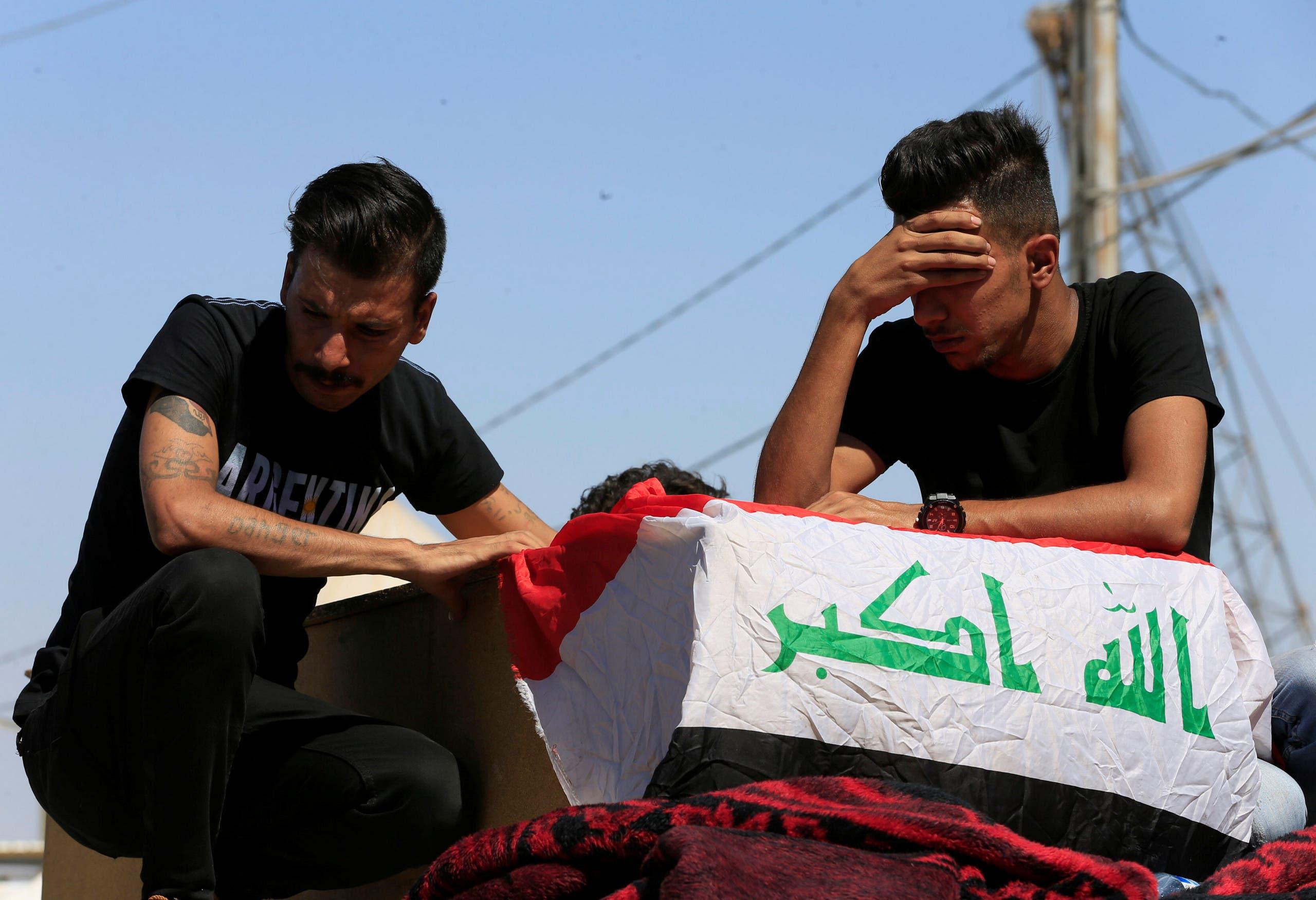 من مظاهرات العراق 5( أكتوبر رويترز)