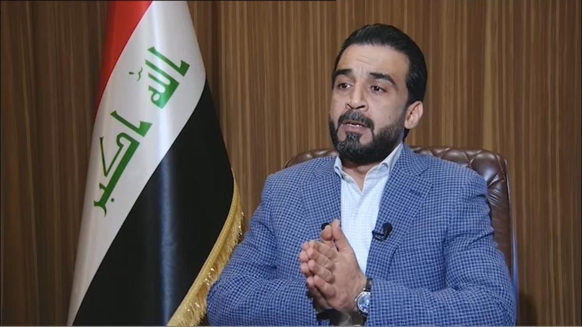 الحلبوسي للعربية: أدعو قيادات المتظاهرين لحضور جلسة البرلمان المقبلة لمناقشة مطالبهم