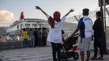 Greece moves 570 migrants from overcrowded camp