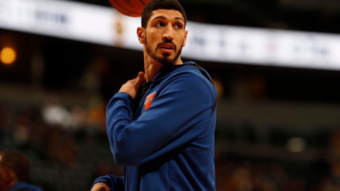 NBA player Enes Kanter (AP)