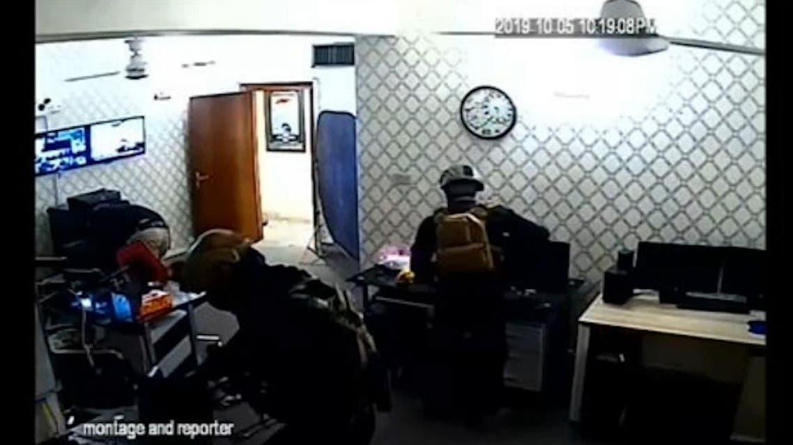 Armed gunmen ttacked the Al Arabiya office in Baghdad on Saturday. (supplied)