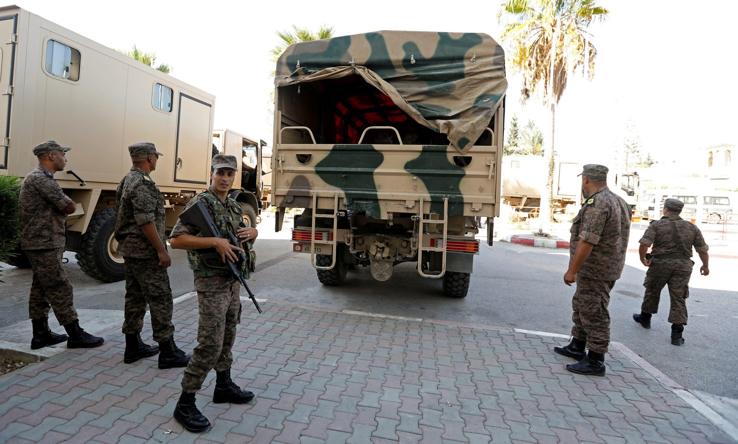 من عملية تأمين الانتخابات التونسية