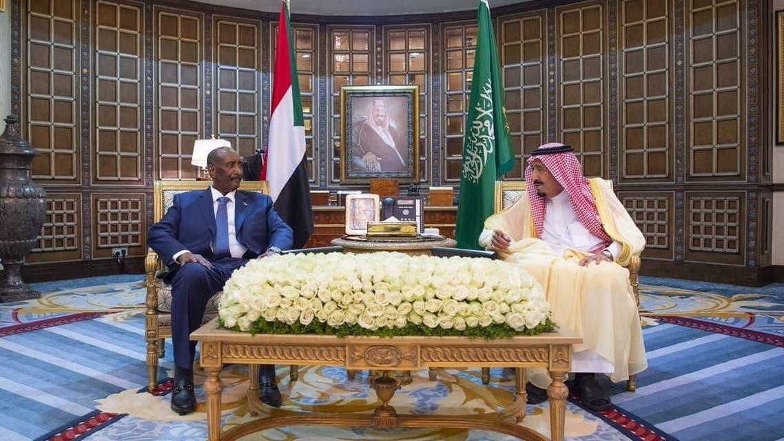 حمدوك البرهان الملك سلمان السعودية