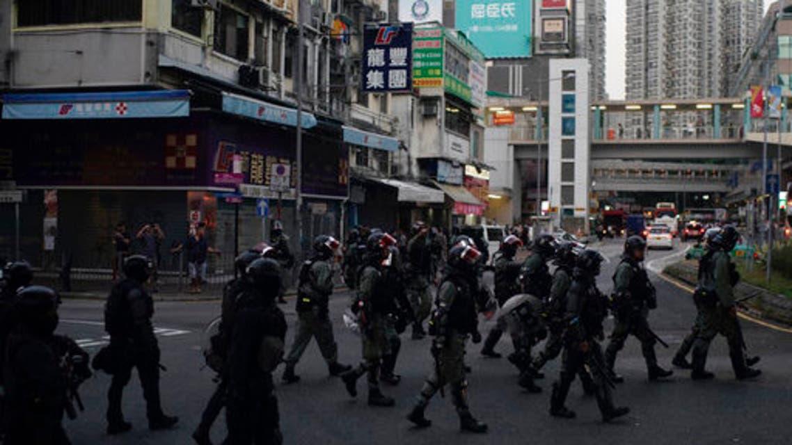 تظاهرات هونغ كونغ