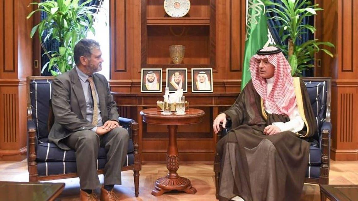 الجبير يستقبل رئيس البعثة الأممية لدعم إتفاق الحديدة