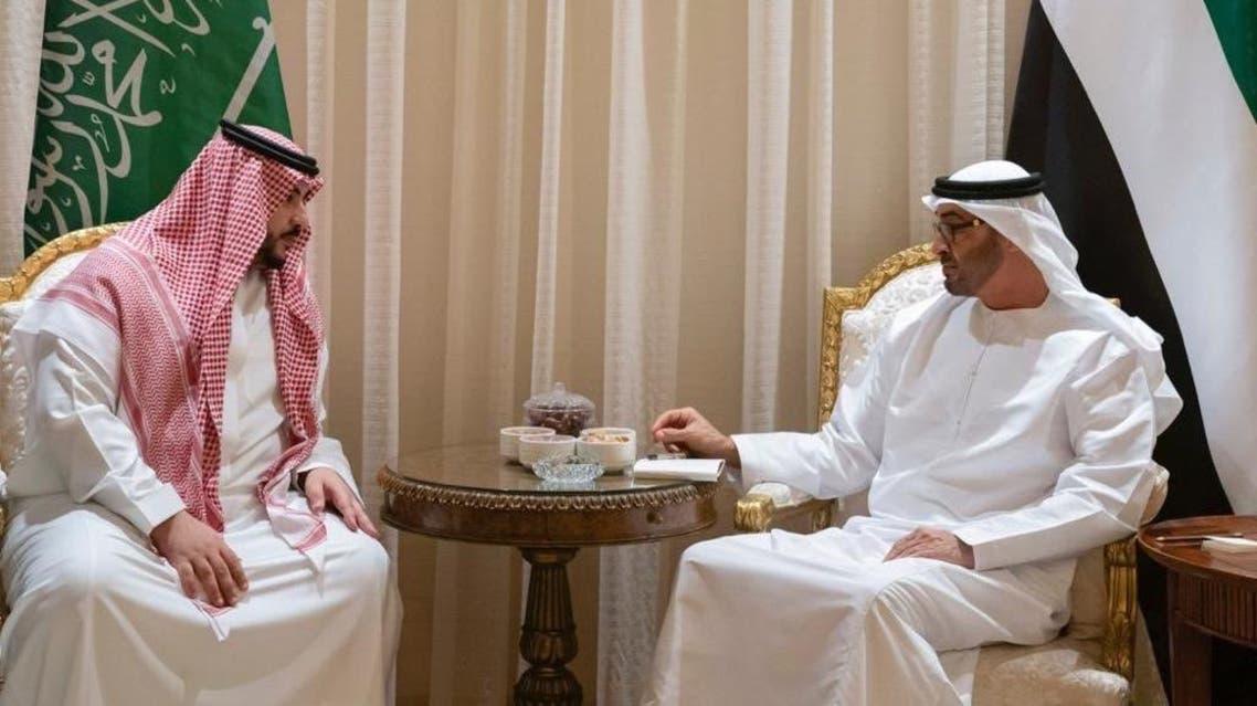 prince khalid bin salman Sheikh Mohammed bin Zayed