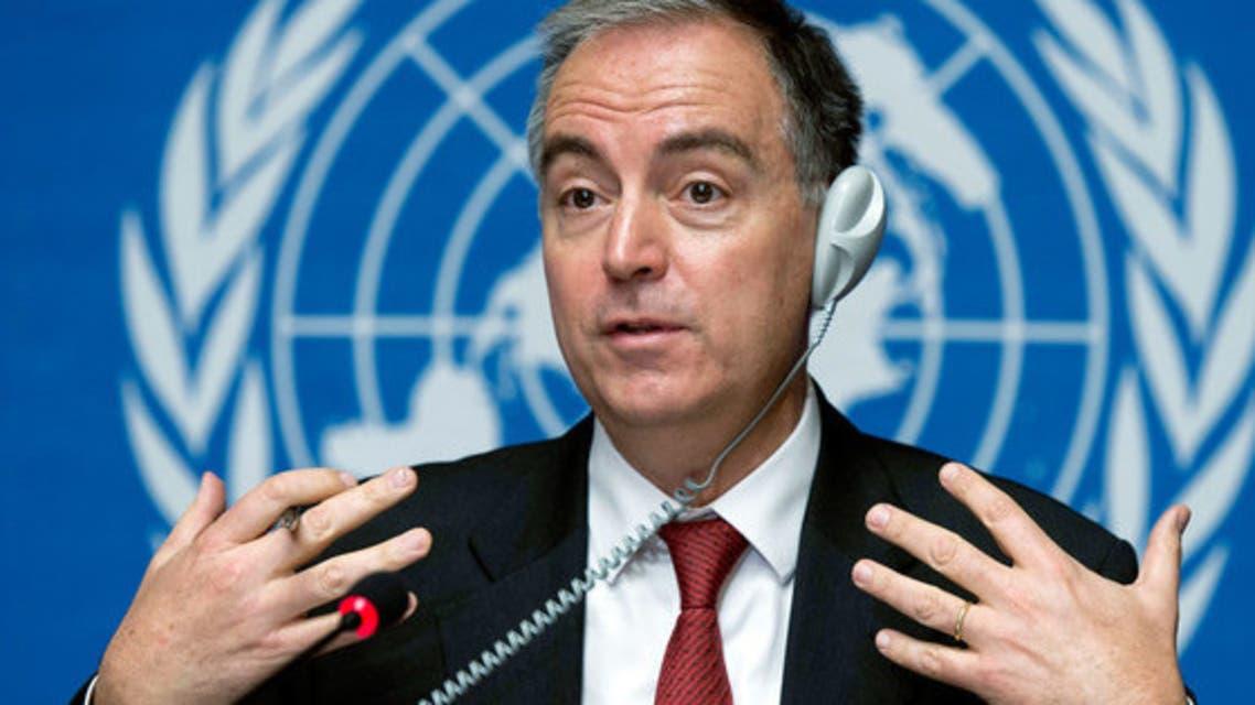 منسق الشؤون الإنسانية الإقليمي للأزمة السورية التابع للأمم المتحدة، بانوس مومسيس