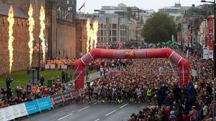 یک دونده دوی ماراتن هنگام شرکت در مسابقه جان باخت