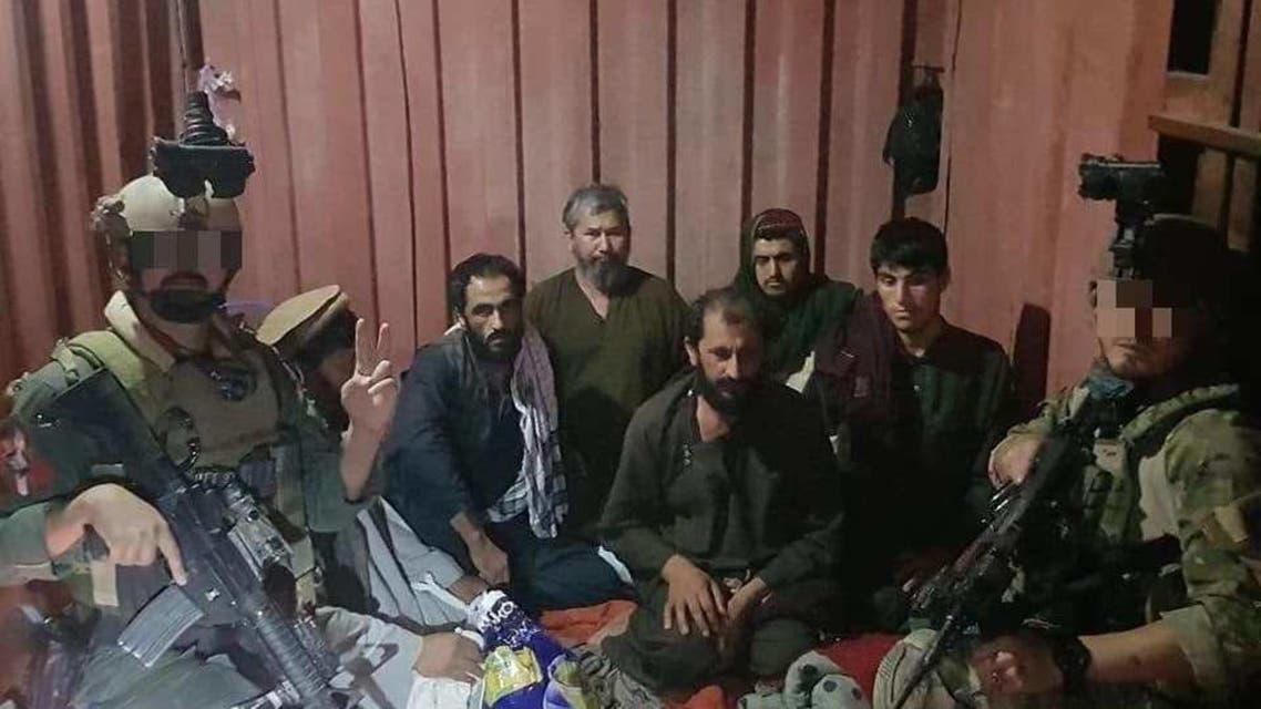 سربازان افغان هفت غیرنظامی را از زندان طالبان در فراه آزاد کردند