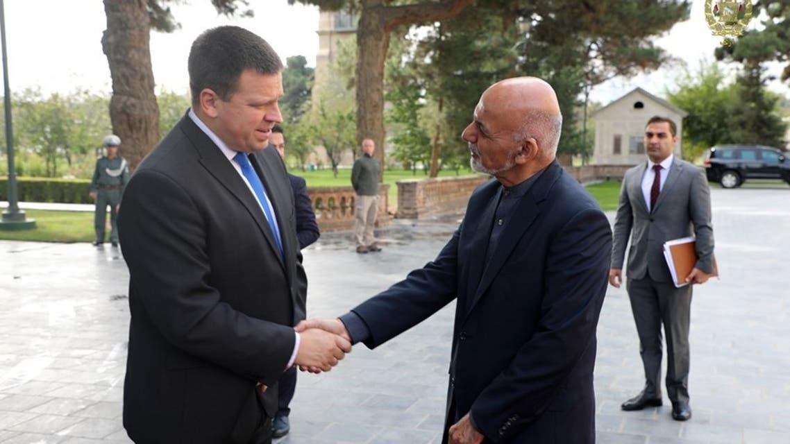 نخست وزیر استونیا در کابل: در بخش تحصیل با افغانستان همکاری میکنیم