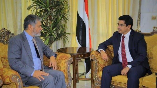 حكومة اليمن تطالب الأمم المتحدة بحسم قضية موانئ الحديدة