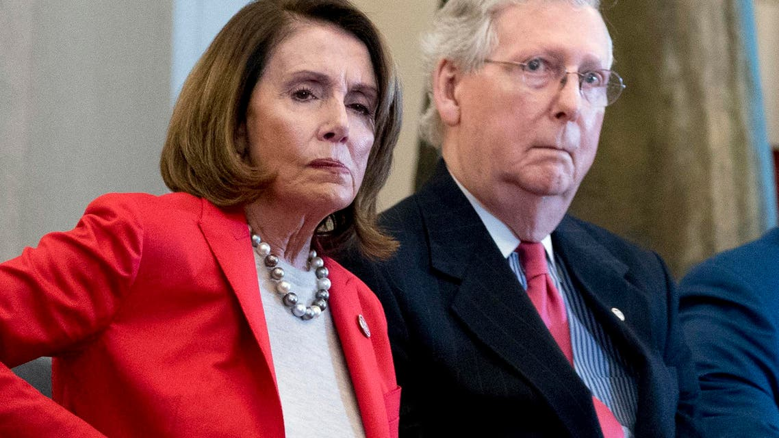 Nancy Pelosi and Mitch McConnell (AP)