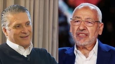 قلب تونس والنهضة يستبقان النتائج ويتبادلان إعلان الفوز بالتشريعيات
