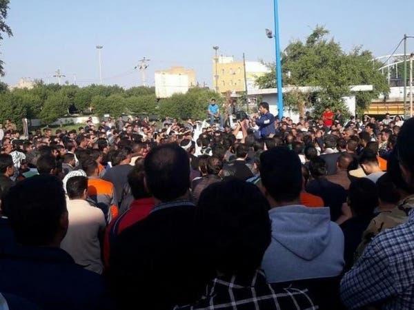 إضرابات إيران مستمرة.. نفط وسكر بلا رواتب