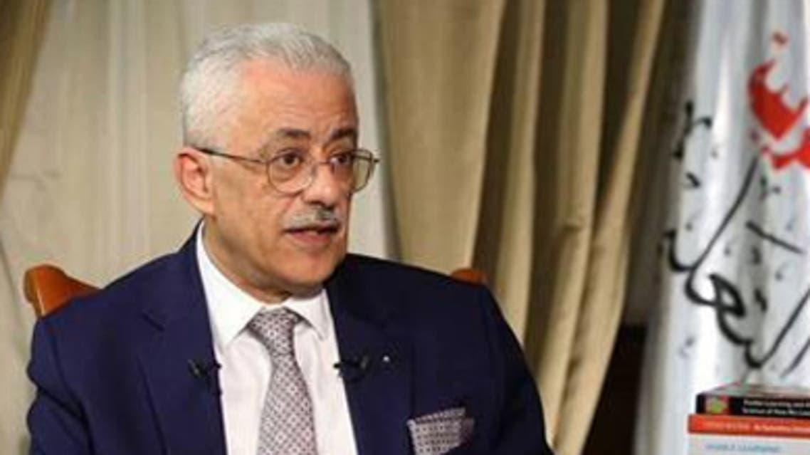 وزير التعليم المصري طارق شوقي