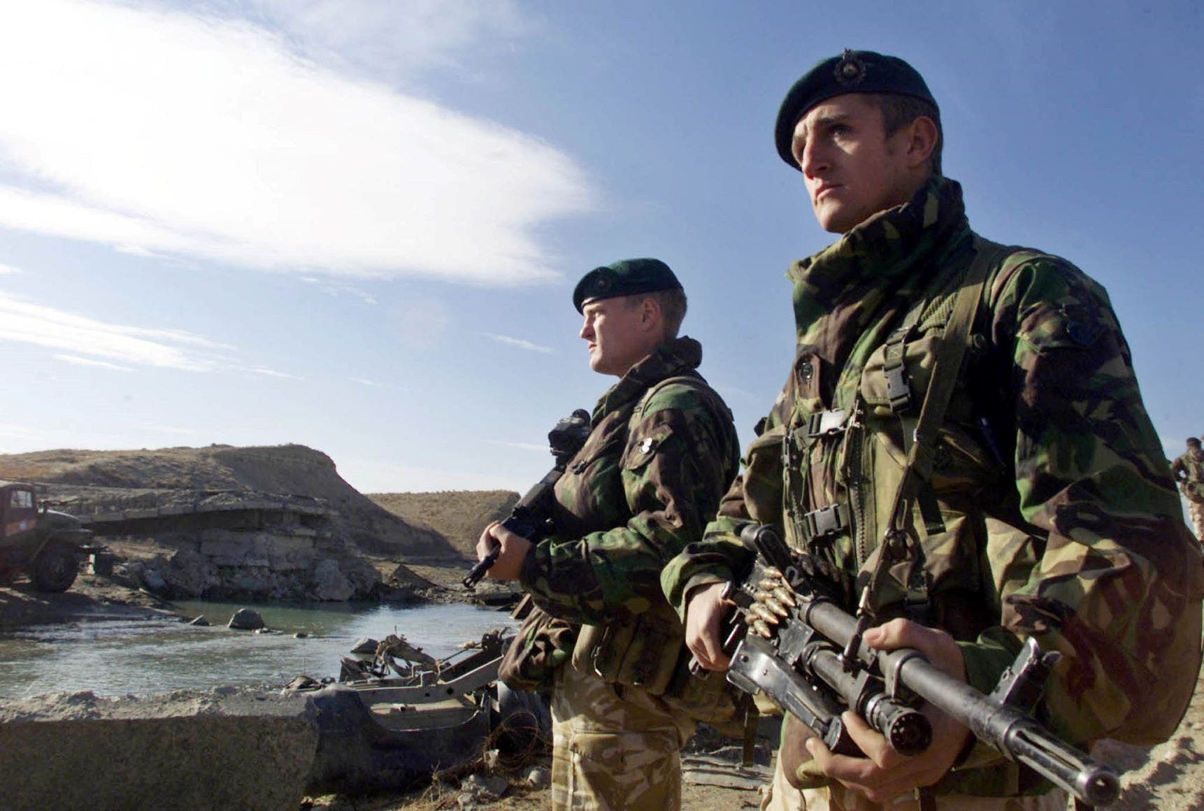 جنديان بريطانيان في أفغانستان (ارشيفية)