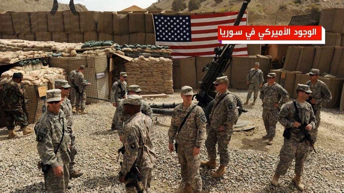 الوجود الأميركي في سوريا