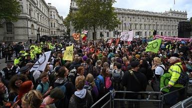 شرطة لندن تعتقل أكثر من 300 من المحتجين على تغير المناح