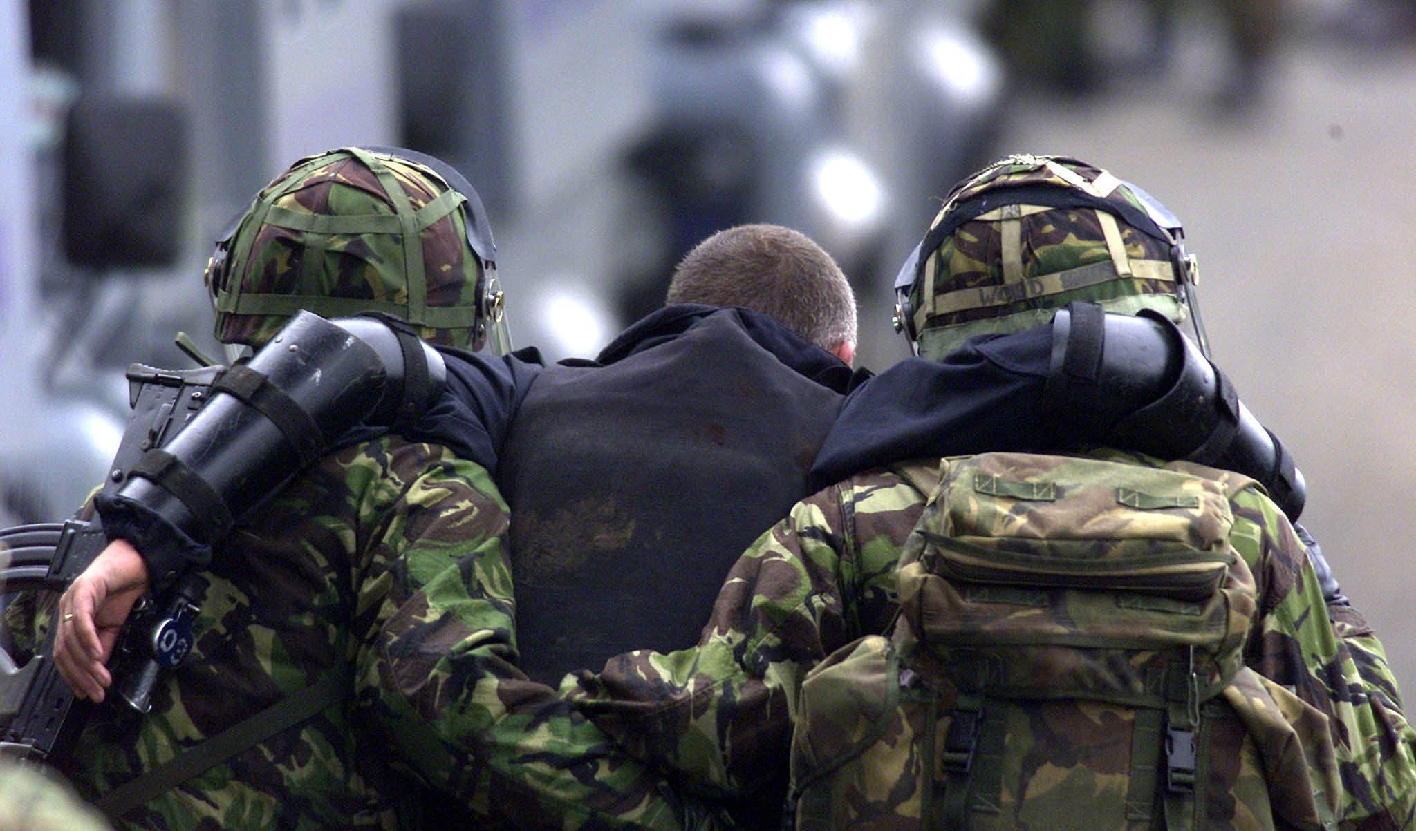جندي مصاب (أرشيفية)