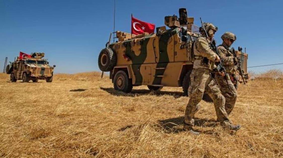 قوات تركية في شمال سوريا