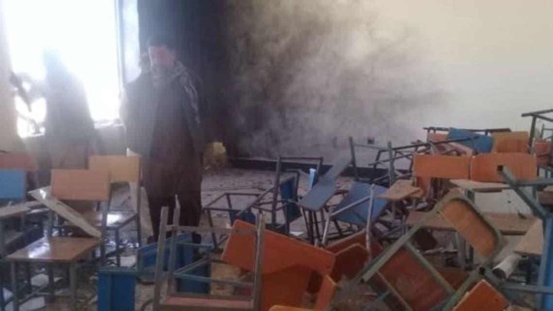 انفجار در داخل دانشگاه غزنی افغانستان 23 دانشجو زخمی شدند